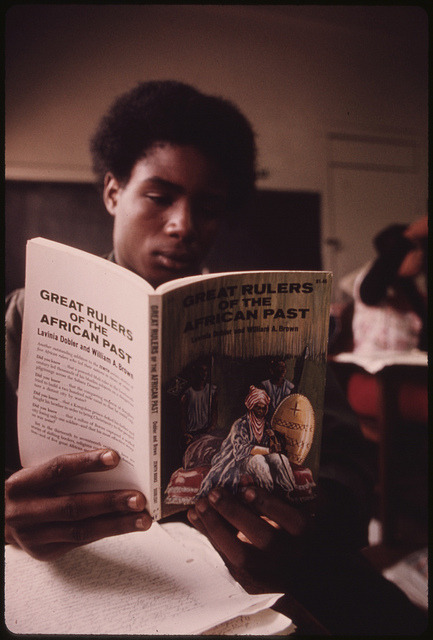 nativethoughts: Black Studies Class.