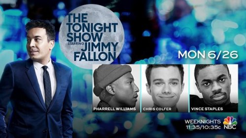 Chris on the Tonight Show with Jimmy Fallon Tumblr_os5phmUogn1u88r6co2_500