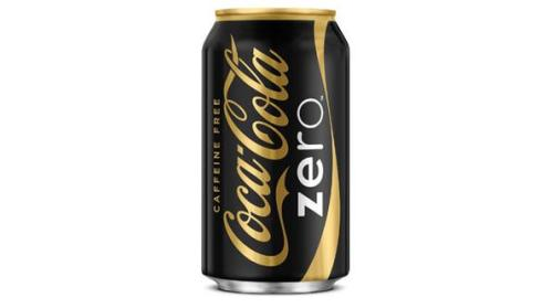 Caffeine-free version of Coke Zero hits the US stores in stylish, glamorous can design this summer