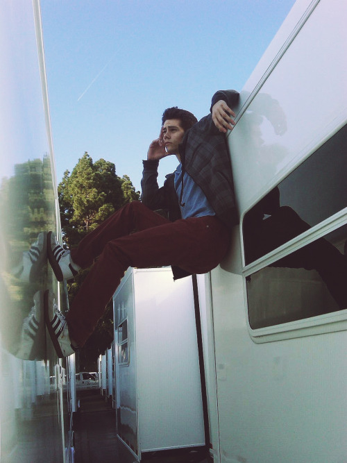 teenwolf:  If you need Dylan, he'll be hanging between takes.