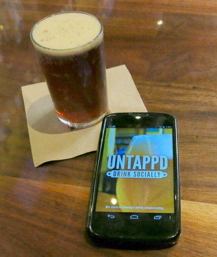 Smartphone apps for the beer lover The smartphone revolution has invaded every facet of modern life, even the sanctity of the saloon. But there are some useful applications that can take your beer-hunting into the digital realm. part from the all-purpose apps like Yelp and the social networks, here are a pair of useful options for your iPhone or Android device that can help you find places to drink, discover new beers, and even remember what was in last night's ill-advised flight of imperial stouts.