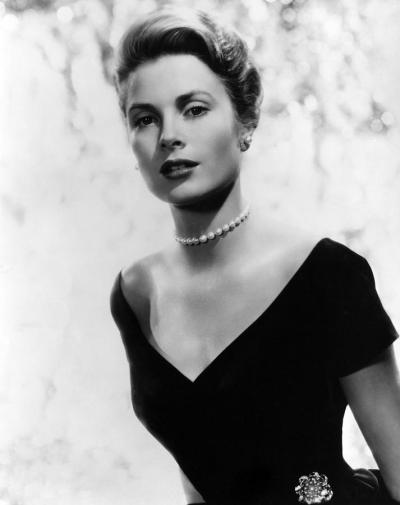 Grace Kelly. 1956. (Photo by Everett Collection / Rex Features) (Grace Kelly was an American actress who, in April 1956, married Rainier III, Prince of Monaco, to become princess consort of Monaco, styled as Her Serene Highness The Princess of Monaco and commonly referred to as Princess Grace.)