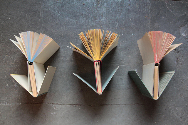 seeingsunshineforthefirsttime:  blooming books by virginhoney on Flickr.  Our Library's display cases are now kitted out for The Renaissance Herbal, showcasing a collection of rare medieval and Renaissance manuscripts highlighting the complex history of botanical science and medicine. The books in attendance may not be literal flower tomes, as seen here, but the classical illustrations (one of our older books was produced on blue paper, with gold and silver ink—c'mon) are striking enough on their own. This is just one the many facets of Wild Medicine, open as of May 18 and running throughout the summer. —MN