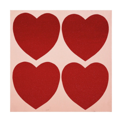 modcloth:  Hearts by Andy Warhol via Art.com