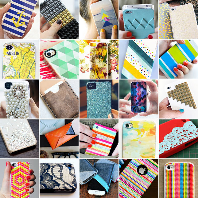 25 inventive iPhone cases you can make yourself. See them here.