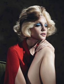 iowntherunway:  Long Day's Journey Into Night Jessica Stam by Willy Vanderperre for W Magazine January 2013 See more from this set here