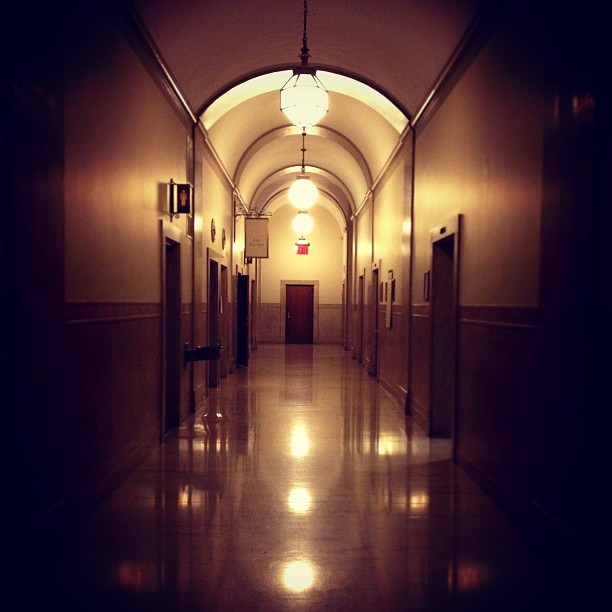 Creepy Cool Corridor @Columbia  (at Butler Library - Columbia University)