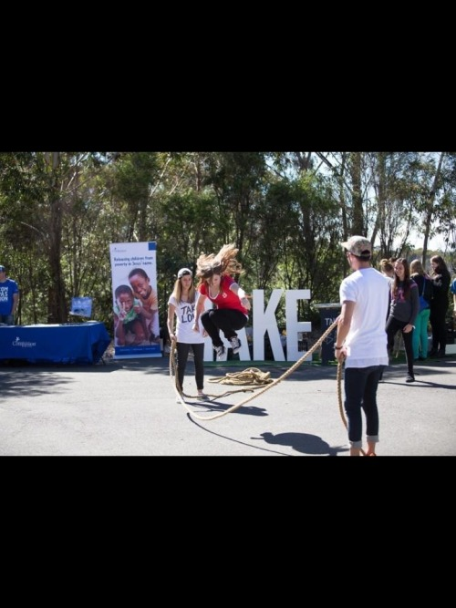 goodness gracious: look at me being a jump-rope beast at KYCK (youth camp) this year. just don't look at my face.