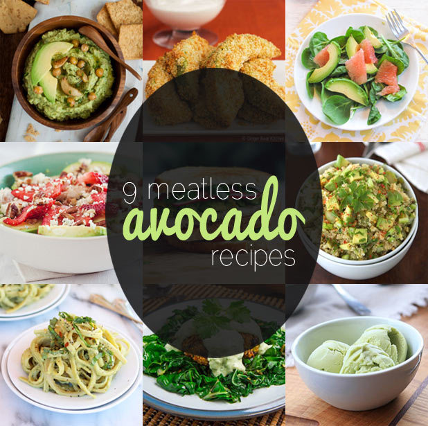 Break out of the guacamole box and see how versatile avocados can be with 9 Meatless Monday recipes from NoshOn.It:http://bit.ly/YIvir7