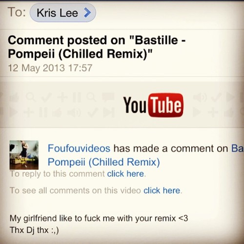 Just received this comment on one of my videos 😏 aha