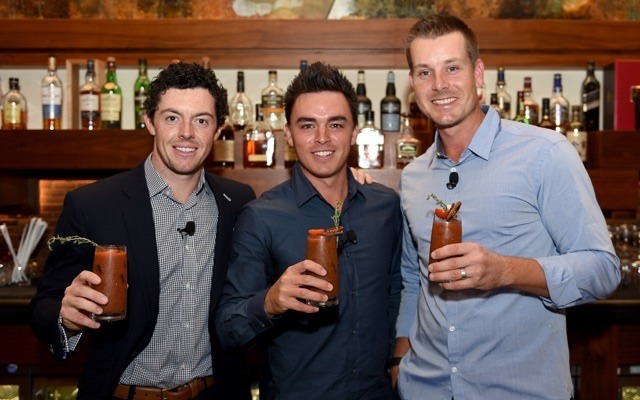 Photo of Rory McIlroy & his friend  Rickie Fowler - Abu Dhabi