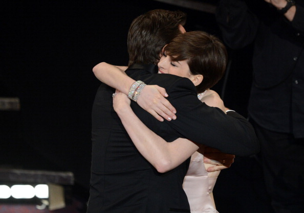 suicideblonde:  I wish I could hug Hugh Jackman when ever something good happened to me.  Or something bad. Or because hugs feel nice.