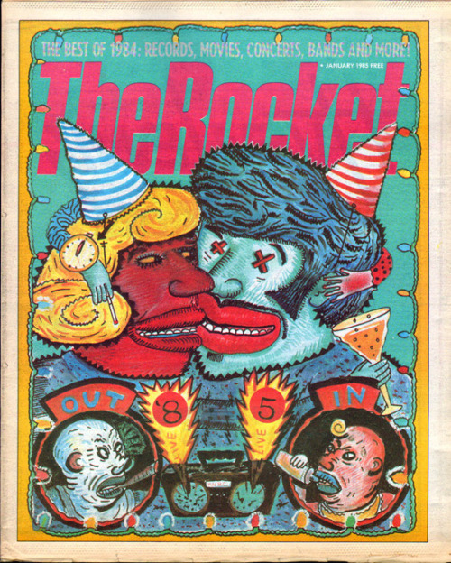Happy New Year from The Rocket, 1985