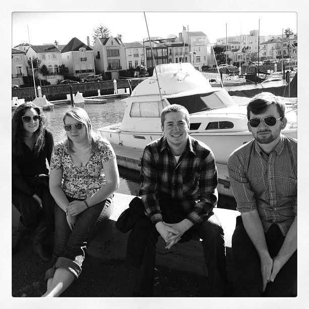 Late posting. Jill, Kaylie, Jake, and I. On our journey to the Golden Gate. #sanfrancisco