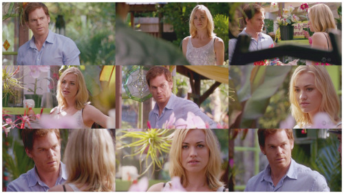 Dexter 7.03 Buck the SystemI kinda love them as a couple.