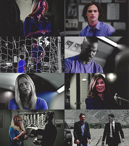 ♯ Criminal Minds Meme | two colours [2/2] ⇢ blue