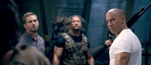 Paul Walker, Dwayne Johnson and Vin Diesel in Justin Lin's Fast & Furious 6, from the very final trailer, in theaters May 24th.