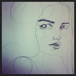 Work in progress… new work ;)  Holly Sharpe ♥