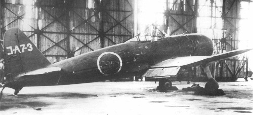 Japanese Prototypes of World War Two…Image #1: Mitsubishi A7M Reppu The Reppu (or Sam as per its Allied designation) was a proposed successor to the A6M. However the proposed fighter's development was stalled by performance issues followed by factory damage incurred from earthquakes and American bombing. Only 8 A7Ms were completed.