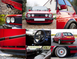 (POLLY) MK2 GOLF GTI 16V COLLAGE.