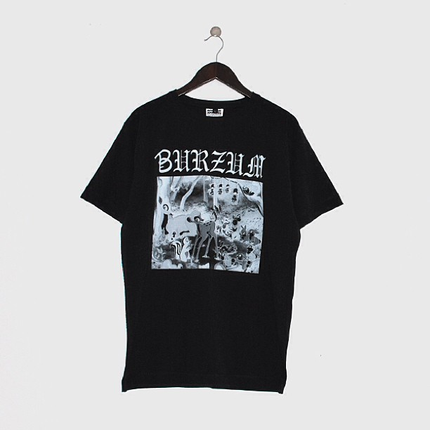 @african_apparel Bvrzvm tee online now along with 3 others and the COMME Dine beanies #burzum #metal #blackmetal #disney #bambi #hailsatan