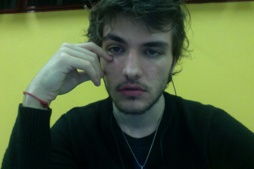 bloggin live from university of sao paulo givin up on life