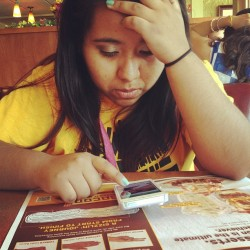 Fresh out of prison #saturdayschool #dennys #sister #jk #notaconvict @laurrahhhh