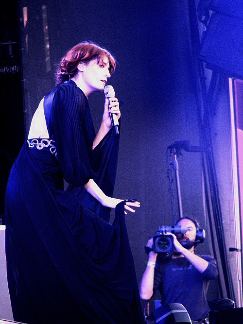 time-goes-quicker:  Florence at the ROCK WERCHTER FESTIVAL Photo by http://darjjjo.tumblr.com/