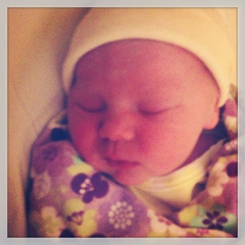 Our Beautiful little baby girl ! Freya-Jean. 6.8 lb 19 in.  (at The Gathering Place)