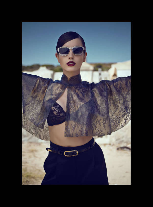Amina by Fulvio Maiani for Bambi Magazine's 12th Issue