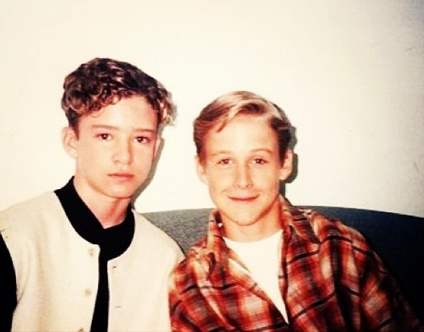 love-is-so-blind:  lovely—unicorn:  Justin Timberlake and Ryan Gosling-1994
