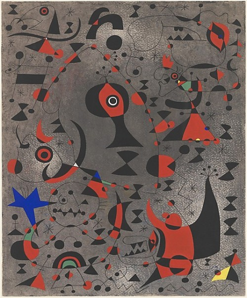 Constellation: Toward the Rainbow by Joan Miro (1941)