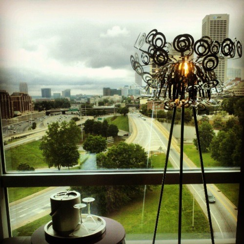 Our room with a view. (at W Atlanta - Downtown)