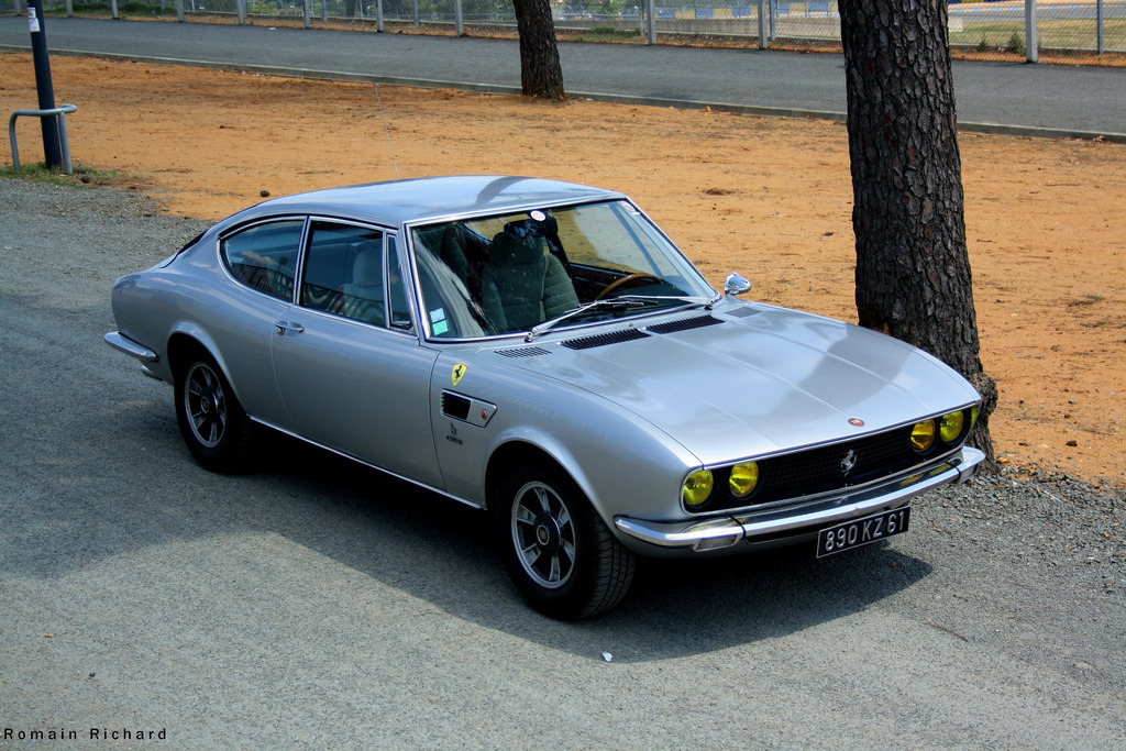 motoriginal:  Fiat Dino Coupe
