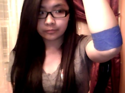 so my school had a Spring Blood Drive today! (´∀`●) this is my first time donating blood. feels pretty cool! I looked away when they injected the needle though, but I thought it was pretty interesting to see my blood fill up a bag that's supposedly a pint. o uo yay for saving lives ヽ(;▽;)ノ