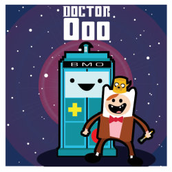It's Adventure Time for Doctor Who