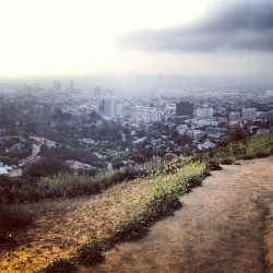 4.1.13 LA - Early morning hike. #2013photooftheday  (at Runyon Canyon Park)