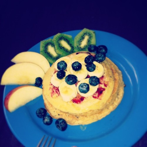 cause when i #pancake, i pancake hard #byme #yum #breakfast #stilllife #moment #fruit #finally #design