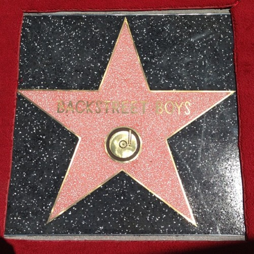backstreetboys:  You're my shining star 🌟#bsbwalkoffame #bsbgetsahollywoodstar