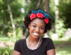 natural hair colored natural hair carefree black girl tokyo-dreamer