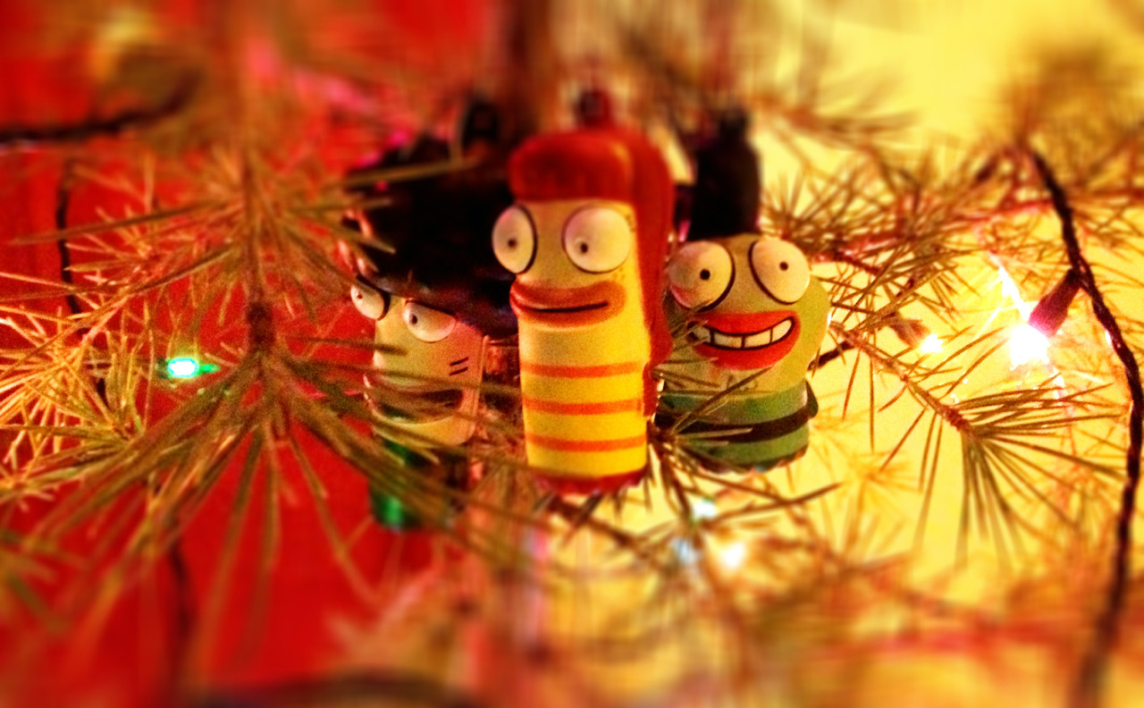 These guys make good ornaments…