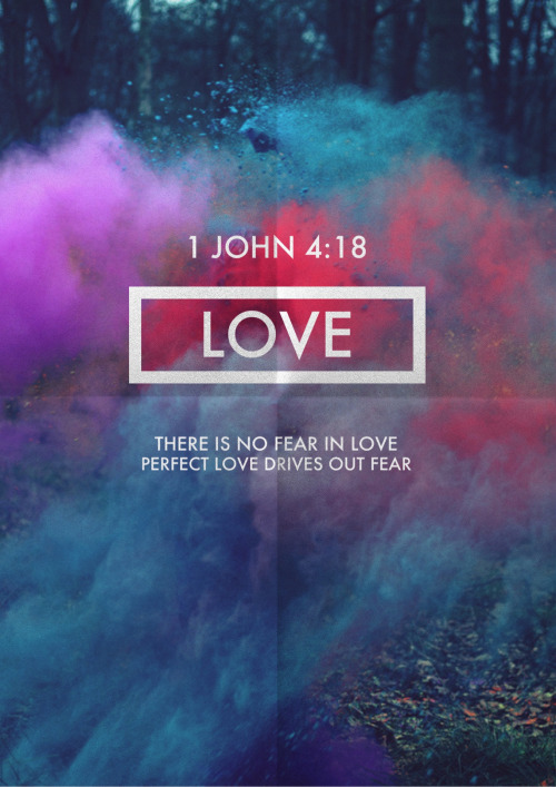 1 JOHN 4:18 more on Facebook