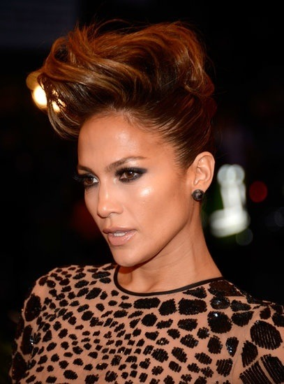 #MetGala 2013 #hair and makeup - JLo!