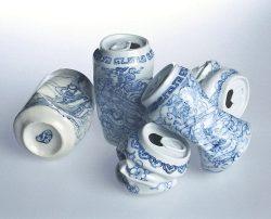 esurfing:  Porcelain soda cans
