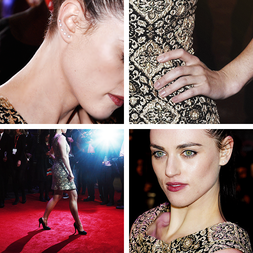 fy-katiemcgrath:  → Katie McGrath red carpet style!{W.E., London Premiere}