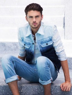 Silviu Tolu for Guess SS 2013