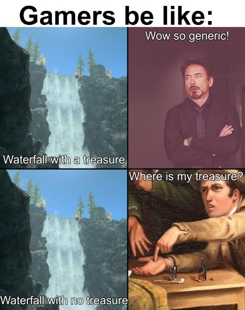 Where is the enchanted stuff though? #Meme#funny#omghotmemes#lol