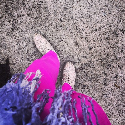 My #pants are #pretty PINK! #whatimwearingtoday