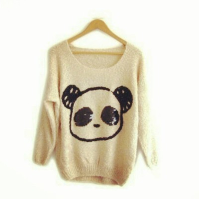 "teenage-girl-10:  Gusto ko nitooooo :""> #Panda #Cute #longsleeves"