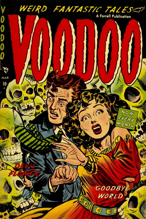 monsterman:  Voodoo (No.7, 1953)
